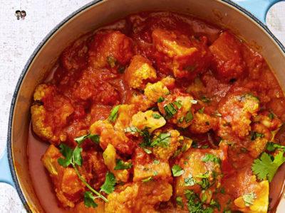 Coconut-Cauliflower Curry