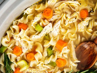 Crockpot Chicken Noodle